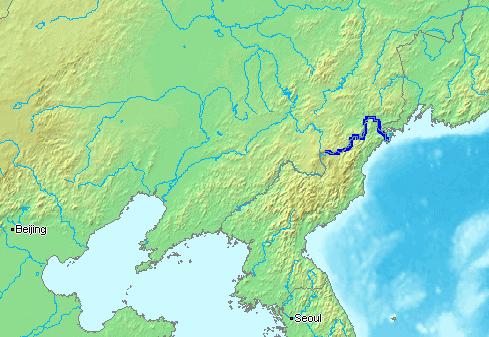 Location_Tumen-River